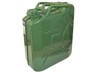 Faithfull Green Jerry Can - Metal 20 Litre