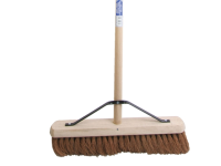 Faithfull Broom Soft Coco 45cm (18 in) + Handle & Stay
