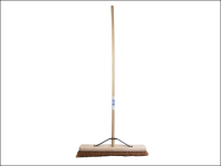 Faithfull Broom Soft Coco 60cm (24 in) + Handle & Stay