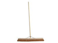 Faithfull Broom Soft Coco 90cm (36 In) + Handle & Stay