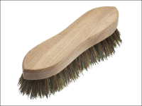 Faithfull Hand Scrubbing Brush 200mm (8 in) Unvarnished