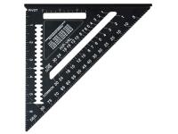 Faithfull Presitge Quick Square Black Aluminium 178mm (7in)
