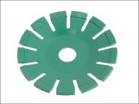 Faithfull Diamond Blade Green Concave Curve Cutting 115mm x 22.2mm