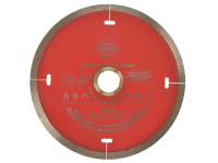 Faithfull Diamond Tile Blade Red Continuous Rim 115mm x 22.2mm