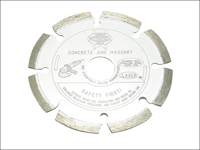 Faithfull Diamond Blade Platinum Series Hard Materials 115mm x 22.2mm