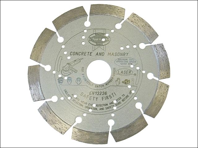 Faithfull Diamond Blade Platinum Series Hard Materials 125mm x 22.2mm