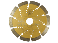Faithfull Diamond Blade Gold Series Universal Cut 125mm x 22.2mm