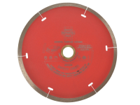 Faithfull Diamond Tile Blade Red Continuous Rim 150mm x 22.2mm