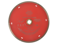Faithfull Diamond Tile Blade Red Continuous Rim 180mm x 22.2mm