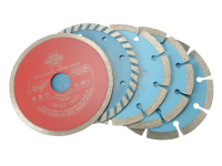 Faithfull Diamond Blade Assorted Set of 5 115mm x 22.2mm
