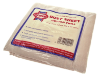 Faithfull Cotton Twill Dust Sheet 12 x 9ft