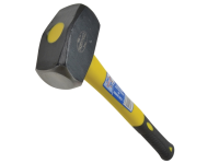 Faithfull Club Hammer 1.81kg (4lb) - Long Shaft Fibreglass Handled