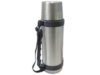 Faithfull Vacuum Flask Stainless Steel 1 Litre