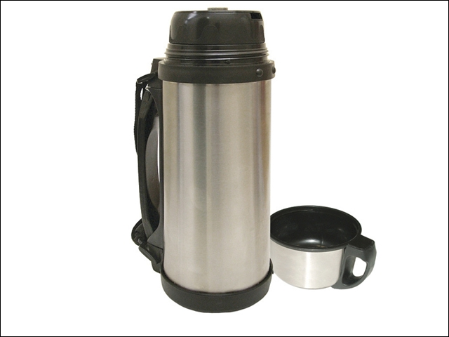Faithfull Vacuum Flask Stainless Steel 1.5 Litre