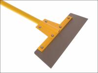 Faithfull Floor Scraper 400mm (16in) Heavy-Duty Fibreglass Handle