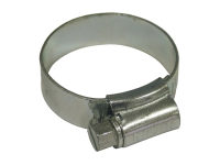 Faithfull 1X Hose Clip - Zinc MSZP 30 - 40mm