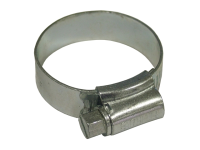 Faithfull 1X Stainless Steel Hose Clip 30 - 40mm