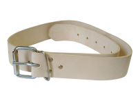 Faithfull Heavy-Duty Leather Belt 45mm Wide
