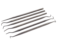 Faithfull Picks & Carvers Set of 6 Stainless Steel