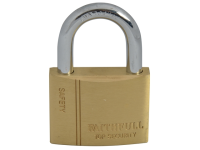 Faithfull Brass Padlock 50mm 3 Keys