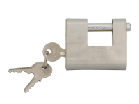 Faithfull Shutter Padlock Brass 60mm