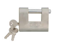 Faithfull Shutter Padlock Brass 80mm