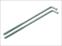 Faithfull External Building Profile - 460 mm (18 in) Bolts (Pack of 2)