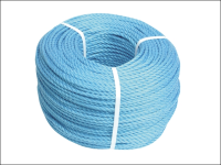 Faithfull Blue Poly Rope 8mm x 30m