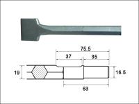 Faithfull Scaling Chisel 300x75mm Ryobi / Bosch