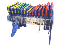 Faithfull Screwdriver Display Complete 84 Pieces