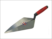 Faithfull London Pattern Forged Brick Trowel Soft Grip Handle 11in