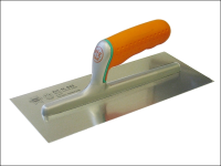 Faithfull Plasterers Finishing Trowel Soft Grip Handle 11in x 4.3/4in