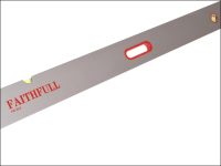 Faithfull Screeding Level 2.4m (8ft) 3 Vial & Grips