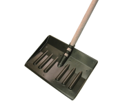 Faithfull Plastic Snow Shovel With Handle