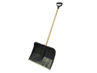 Faithfull Heavy-Duty Plastic Snow Shovel Cw Handle
