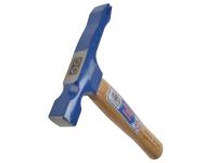 Faithfull Single Scutch Hammer Hickory Handle
