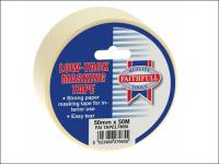 Faithfull Low Tack Masking Tape 50mm x 50m