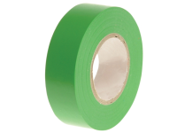 Faithfull PVC Electrical Tape Green 19mm x 20m