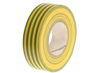 Faithfull PVC Electricial Tape Green / Yellow 19mm x 20m