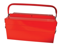 Faithfull Metal Cantilever Tool Box 40cm (17in) 5 Tray