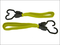 Faithfull Flat Bungee Cord 91cm (36in) Yellow