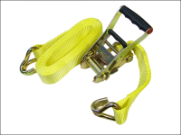 Faithfull Ratchet Tie Down 8m x 50mm Trucker Breaking Strain 4500kg