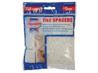 Faithfull Tile Spacer Long Leg 5mm Bag of 250