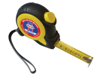 Faithfull Auto-Lock Tape Measure 5m (Width 19mm)