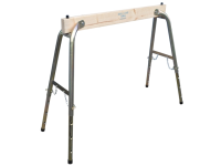 Faithfull Steel / Wood Heavy-Duty Adjustable Trestle
