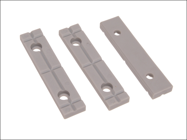 Faithfull Replacement Jaws (3pc) For V2075 Vice