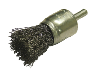 Faithfull Wire End Brush 25mm Flat End