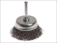 Faithfull Wire Cup Brush 50mm x 6mm Shank 0.30mm