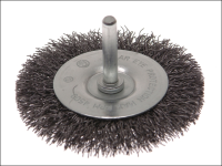 Faithfull Wire Brush 50mm x 6mm Shank 0.30mm