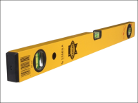 Faithfull Stabila Box Section Spirit Level 3 Vial 60cm (24in)